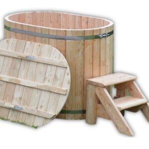 Spa en bois norvegien pour 2 places personnes