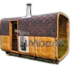 sauna extérieur baril