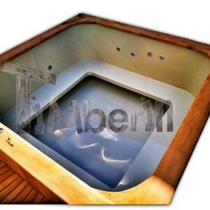 Bain nordique rectangulaire, carré