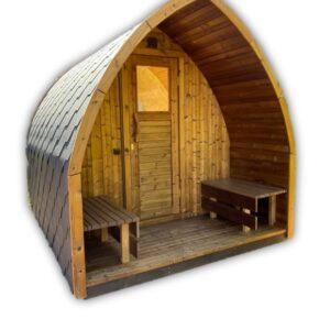 Sauna exterieur jardin iglu en kit disponible